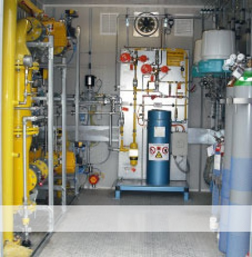Biogas grid injection systems